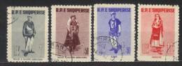 R101 - ALBANIA 1961 ,  Serie N. 645/648 - Albania