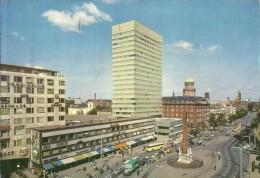 DANEMARK - DANMARK - DENMARK - DANIMARCA 21 9 1965 COPENHAGEN VESTERBROGADE S.A.S. BUILDING ROYAL HOTEL TO ITALY CARD - Danimarca