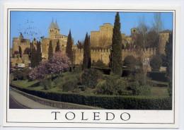 Espagne--TOLEDE--TOLEDO--Murallas Y Puerta De Bisagra,cpm Julio De La Cruz--joli Timbre Au Dos - Toledo