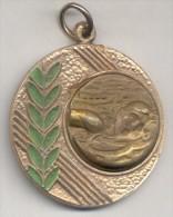 NATACION ESTILO CROWL MEDALLA ARGENTINA AÑO 1995 - Tokens & Medals