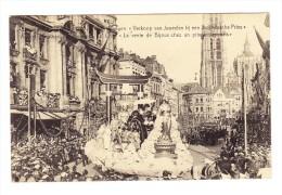 """Anvers - Cortège Des Bijoux - Char : """"Vente Chez Un Prince Japonais"""" - Antwerpen"""