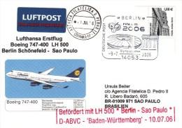 FUSSBALL-FOOTBALL-SOCCER- CALCIO, Germany, 2006, AIRMAIL / Special Postmark !! - Copa Mundial