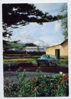 Espagne--TENERIFE--Scène Typique (belle Voiture ,au Fond El Tiede ) Cpsm 10 X 15 N°277 éd Valman - Tenerife