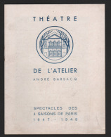7174 - Michel Bouquet   Dany Robin    Edith Vignaud     Henry Gaultier    Marcelle Arnold - Programs