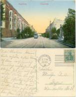 AK Magdeburg 1914, Königstrasse, Strassenbahn - Magdeburg