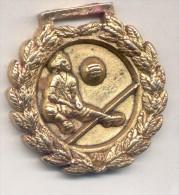 HOCKEY MEDALLA ARGENTINA AÑO 1990 RARE - Tokens & Medals