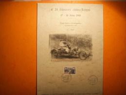 319) 6 é 24 Heures Retro : Lisieux 17 19 06 1989 :cornu Et Fils Mecaniciens Brevetes :rare  : No 25 Sur 30 - Other
