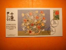 320)  Floralies Automne Lisieux : 12 Au 15 10 90 ;caly Corbeille Roses : B Kerrien  : 2 Scans - Andere