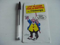 Autocollant - BD ACHILLE TALON - Le Printemps Lille - Pegatinas