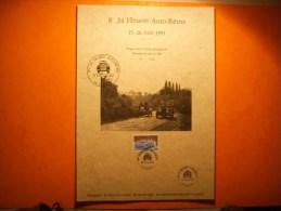 325) 8 é 24 Heures Auto Retro Lisieux : 15- 16 06 1991 :tirage No 192: Virage Cote Du Maupas - Luxeproeven