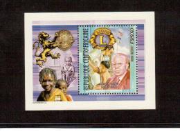 2002 REPUBBLICA CENTRAFICANA  LIONS CLUB - Rotary, Lions Club