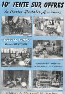"""Revue  """"AVEC LE TEMPS""""   10ème Vente Sur Offres De CPA   B. BERTOMEU - Français"""