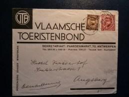 40/392   LETTRE POUR ALLEMAGNE - 1931-1934 Mütze (Képi)