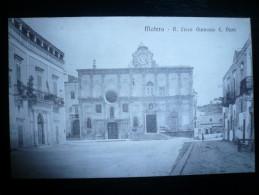 Matera Regio Liceo Ginnasio Duni Nuova - Matera