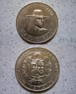 Peru 10 Soles 1974 Münze Cu - Ni - Tupac Amaru -SEHR SCHÖN !!                         (B7) - Peru