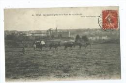 CPA - Vitré - Vue Gégérale Prise De La Route De Fougères - Vitre