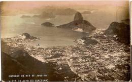 CPA - BRESIL - Entrada Do Rio De Janeiro Vista Alto Do Corcovaro - Voyagée Sur Le Lutétia - - Rio De Janeiro