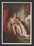 ART POSTCARD EMPEROR FRANZ I Of AUSTRIA ROYALTY MONARCHY ÖSTERREICH AUTRICHE - Familles Royales