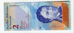 2 BOLIVARES  NEUF 4 - Venezuela