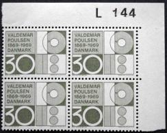 Denmark 1969   MiNr.487  MNH (**)Cz.Slania   (lot  L 2543) - Nuovi