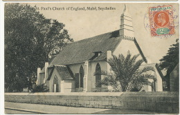Mahé   St Paul's Church Of England Stamped But Not Postally Used Edit Ohashi - Seychelles