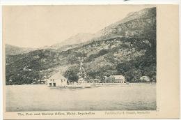 Mahé  The Port And Marine Office  Edit Ohashi - Seychelles