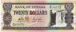 Guyana 20 Dollars 1989 - Guyana