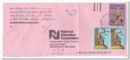 Myanmar Envelope To U.S.A. - Myanmar (Birma 1948-...)