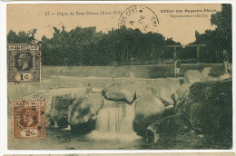 Mauritius Maurice 17 Digue De Beau Sejour Rose Hill Edit Magasins Reunis  Used 2 Stamps - Maurice