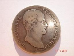 Bonaparte Premier Consul - République Française - 5 Francs - AN 12 - M. Etat B. - Frankreich