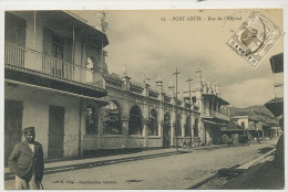 Mauritius Maurice  Port Louis 67 Rue De L Hopital  Edit Vidal   Stamped Not Used - Maurice