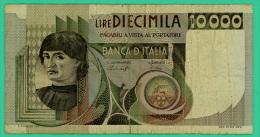 Italie - 10000 Lire - N° AA 239838 O   - TB+ - [ 2] 1946-… : République