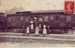83 - VAR - Giens - Wagon Spécial Affrêté Pour Le Transfert Des Malades De Lyon à Hyères Et Vice Versa - - Other Municipalities