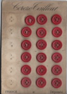 18 Boutons - Buttons