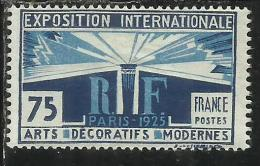FRANCIA  - FRANCE 1924 1925 INTERNATIONAL EXHIBITION OF DECORATIVE ART IN PARIS ESPOSIZIONE ARTE PARIGI MNH - France