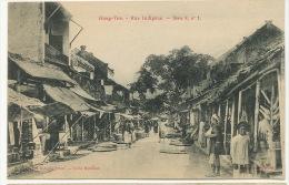 Tonkin  Hung Yen Rue Indigene Serie 8 No 1 Coll. Debeaux Cliché Dintilhac - Vietnam