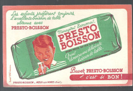 Buvard. PESTO-BOISSON Boisson de Table PESTO-BOISSON � Noeux les Mines (Pas de Calais)