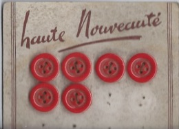 6 Boutons - Buttons