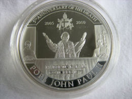 PALAU 1 DOLAR 2010 PAPA JUAN PABLO II - Palau