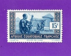 REGION  DU  TCHAD  --  AFRIQUE  EQUATORIALE  FRANCAISE  --  **  15 C.. **  -- POSTE 1937  - NEUF SANS TRACE DE CHARNIERE - Neufs