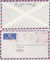 Kenya Cover Airmail To Nederland,  Meter Stamp, TWGA Chemical Industries       (Z-4507) - Kenya (1963-...)