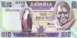 ZAMBIE   10 Kwacha  Emission De 1980     Pick 26 E     ***** BILLET  NEUF ***** - Zambia