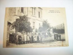 2tak - CPA - BOUZE - La Mairie Et L'école - [21] - Côte D'Or - Autres Communes