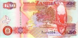 ZAMBIE  50 Kwacha  Emission De 2003     Pick 37 D     ***** BILLET  NEUF ***** - Zambia