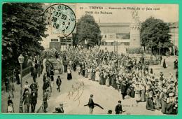 Aube - Troyes - Concours De Pêche En Juin 1906  - Animé - Troyes