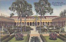 Florida Sarasota Looking East in Ringling Art Museum Curteich
