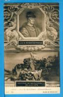 CP, Musée De Versailles, GIBOT, Louis XI Roi De France - Défense De Beauvais, Vierge - Peintures & Tableaux