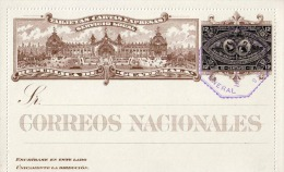 GUATEMALA 1897?, Ganzsache 12 Centavos - Guatemala
