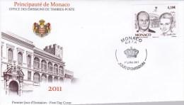 PREMIER JOUR D ' EMISSION. ENVELOPPE; PRINCIPAUTE De MONACO. - Unclassified