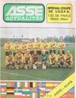 42 Saint Etienne ASSE ACTUALITES N 63 Special UEFA 32eme De Finale   1er  Octobre 1980 ASSE/KUPS - Sport
